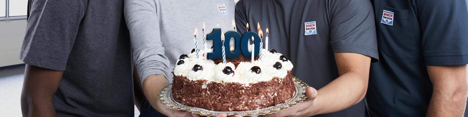 100 jaar Bosch Car Service