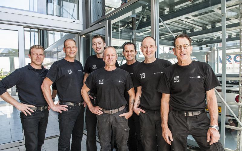 Het team van Bosch Car Service Autopark Zuid