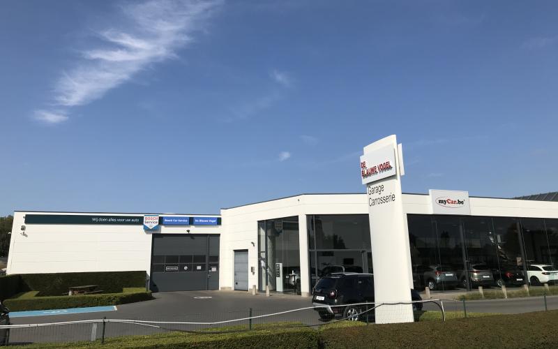 Welkom bij Bosch Car Service De Blauwe Vogel