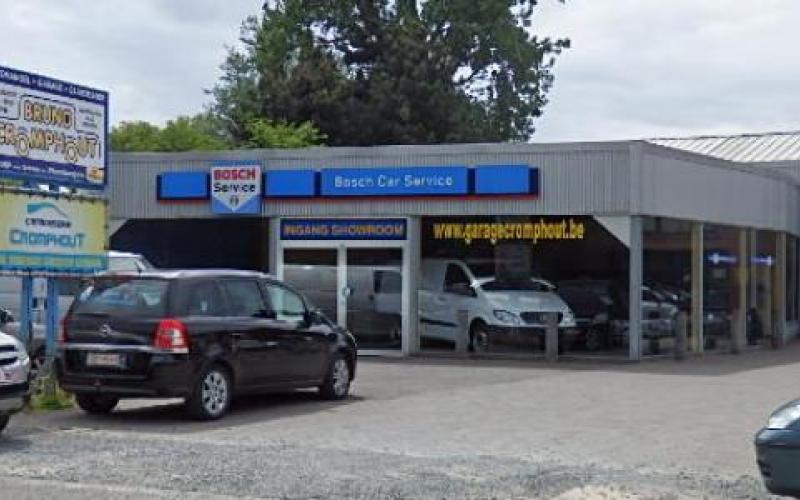 Bienvenu chez Bosch Car Service Bruno Cromphout