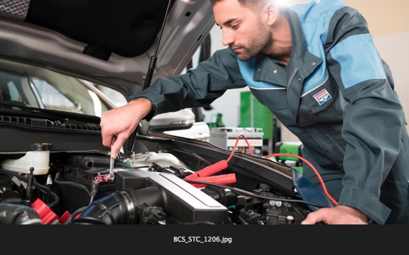 Reparatie door Bosch Car Service monteur