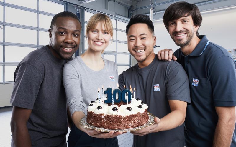 100 jaar Bosch Car Service!