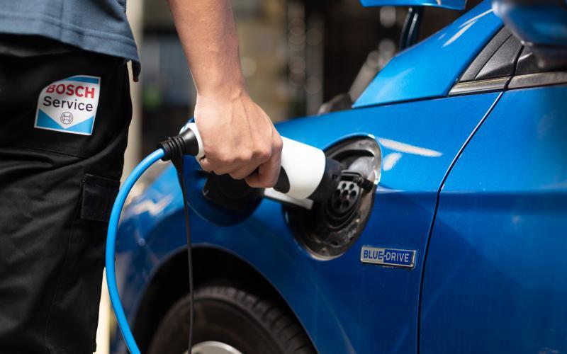 Onderhoud aan elektrische auto