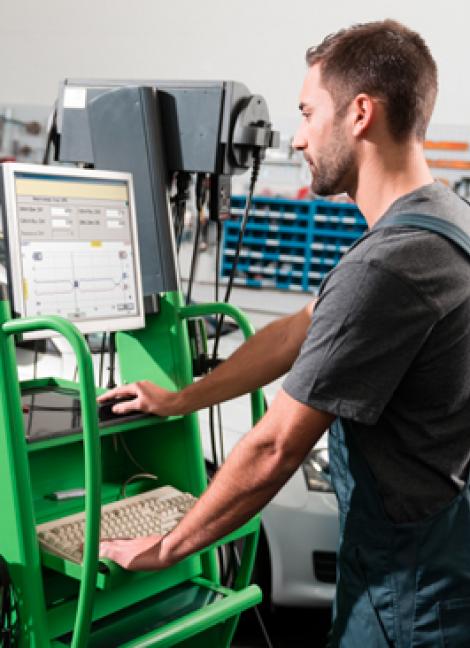 Logiciel de mécanicien pour le maintien de la garantie d'usine