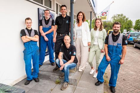 Het team van Bosch Car Service Valstar